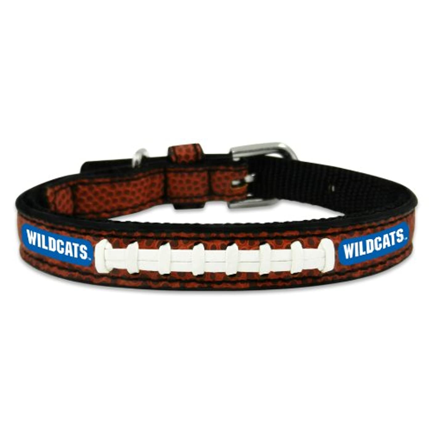 変化するリサイクルするセマフォKentucky Wildcats Classic Leather Toy Football Collar
