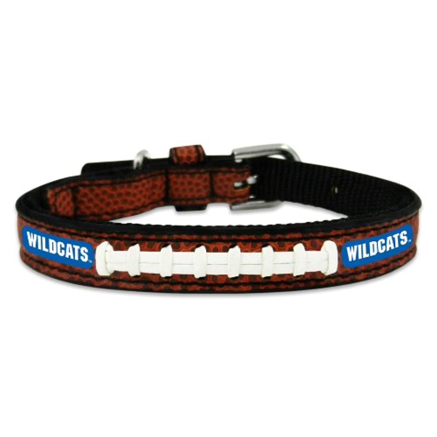 命令的はず埋めるKentucky Wildcats Classic Leather Toy Football Collar