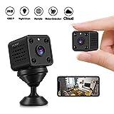 Caméras Espion - CUSFLYX Cloud Mini 1080P HD WiFi Sans Fil Caméras Détection de...
