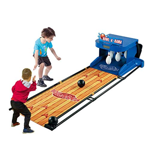 Learn More About JINXUXIONGDI Electronic Bowling Alley Game, Indoor Family Game Bowling Game for Children and Adults Foldable with LED Electronic Scoreboard