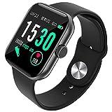 Z1 1.54 Inch Men Women Sport Watch Smart Watch, Heart Rate Monitor Sleep Monitor Tracker for Phone for IOS...