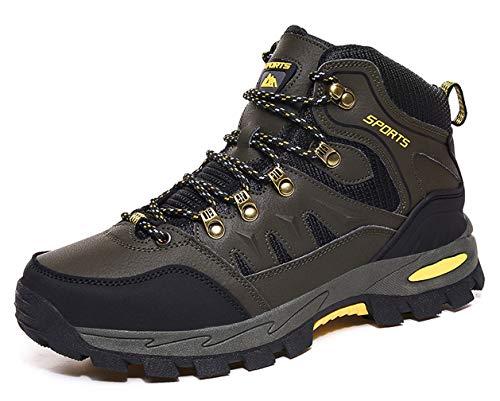 Zapatillas de Trekking para Hombre Mujer Impermeables Botas de Senderismo Al...