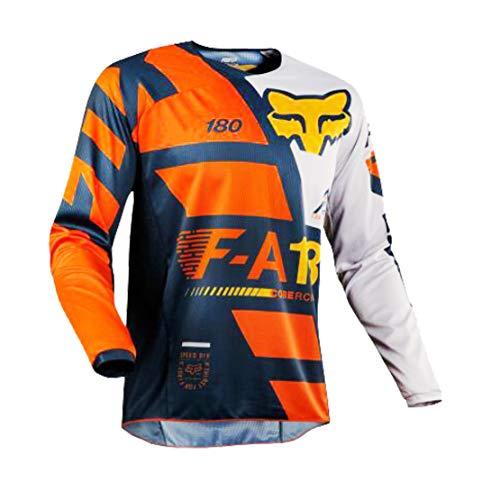 ZCFX MTB Cycling Jersey Long Sleeve T-Shirt Men Size XL Colour YJ108