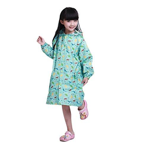 Vestes anti-pluie QFF Child Raincoat Boys and Girls Student Raincoat Baby Poncho (Couleur : #2-a, Taille : XXXXL)