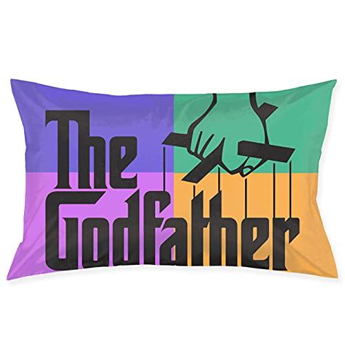 The Godfather - Funda de almohada cuadrada para sofá, decoración de sofá, ultra suave, cómoda, 50,8 x 76,2 cm
