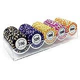 Poker Set Poker Chips Casino Games Casino Chips Monte Carlo, Caja...