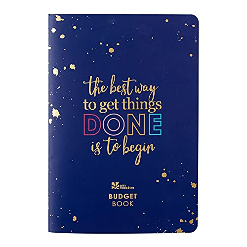 12 Month Budget Book & Financial Budget Tracker. Debt Track, Expense Planner, Spending Summary w Stickers & Quote Sheet. Petite Planner by Erin Condren