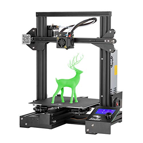 Creality Ender 3 Pro 3D Printer with Magnetic Removable Build Surface Plate and UL Certified Power Supply, DIY FDM 3D Printer 220x220x250MM