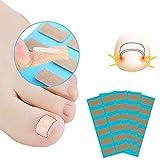 DAWRIS Parche corrector de uñas de los pies, 48 unidades, corrector de uñas de los pies, corrector de pedicura, adhesivo corrector de uñas de los pies, corrector de uñas encarnadas