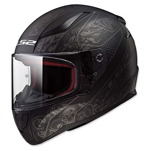 LS2 Helmets Full Face Rapid Street Helmet (Crypt - Large)