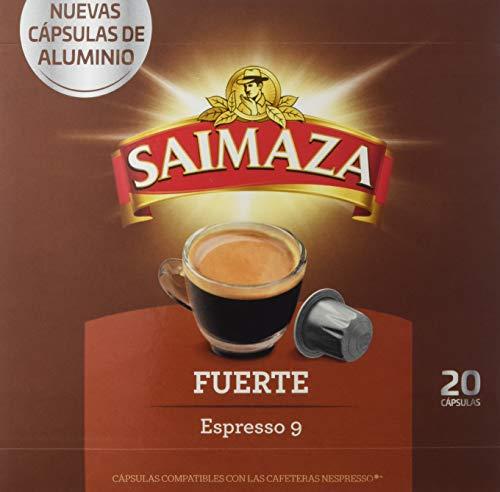 Saimaza Café Fuerte, 20 Cápsulas