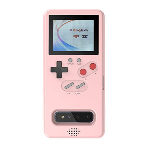Handheld Retro Gameboy Case für Samsung S10, 36 Spiele Case für Samsung, Game Phone Case mit spielbaren Videospielen