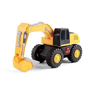Cat Construction Tough Machines 10″ Light & Sound Excavator Toy