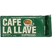 Café La Llave Espresso, Dark Roast, 16-Ounce Brick