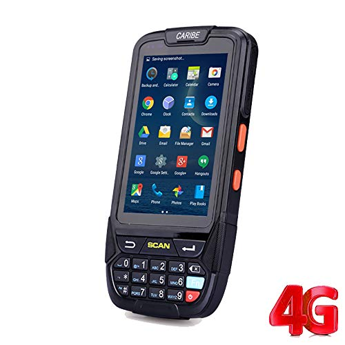 Wenhu Caribe 1D Laser 2D Barcode Reader sans Fil Android PDA Handheld Terminal Mobile Data Collector Handheld Scanner de Documents,2DHoneywellNFC