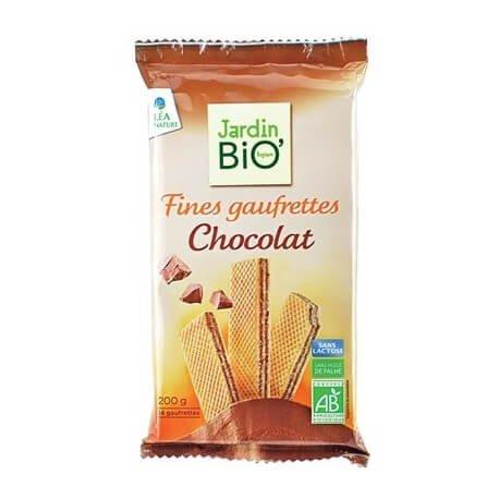 Barquillos Ecológicos con Chocolate JardinBio (200g)