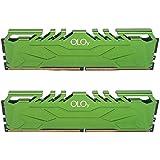 OLOy DDR4 RAM 16GB (2x8GB) 3200 MHz CL16 1.35V 288-Pin Desktop Gaming UDIMM (MD4U0832160BHGDA)
