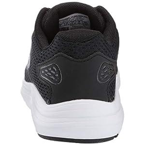 Under Armour Women's Surge 2 Running Shoe, Black (001)/White, 8