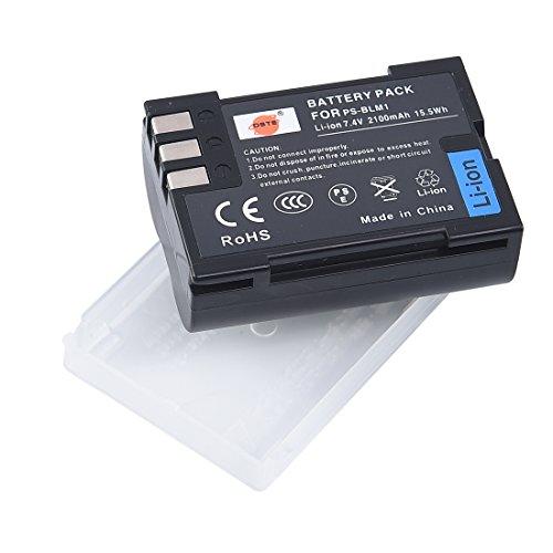 DSTE Ersatz Batterie Akku for Olympus BLM-1 C-5060 C-7070 C-8080 E-1 E-3 E-30 E-520 EVOLT E-300 EVOLT E-330 EVOLT E-500 EVOLT E-510 Kamera