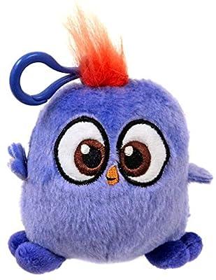 Rovio Angry Birds Hatchlings Purple 4-Inch Plush Clip On