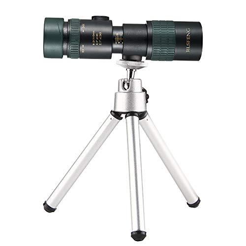 Teleskop Monokular mit Zwei Fokus-Nachtsichtgeräten und langlebigem Stativ-Handyobjektiv Monokulare bifokale Nachtsicht mit haltbarem Stativ Camping Teleskops Erwachsene Kinder Geschenk Spielzeug