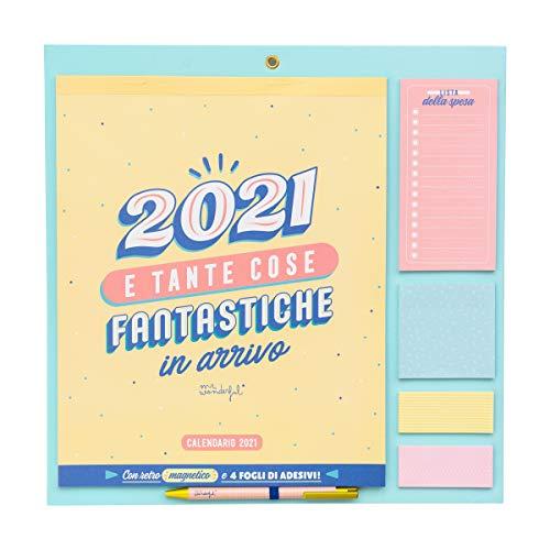 Mr. Wonderful Calendario da muro - 2021 e tante cose fantastiche in arrivo