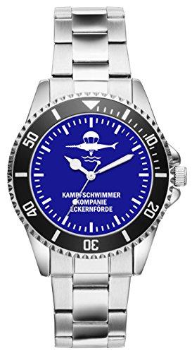 Soldat Geschenk Bundeswehr Artikel Kampfschwimmer Eckernförde Uhr 1206