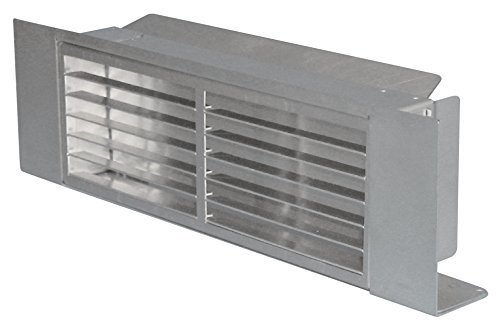 Bielmeier V653510 Dunstabzugshaubenzubehör/Sockel-Umluft-Kasten/edelstahl