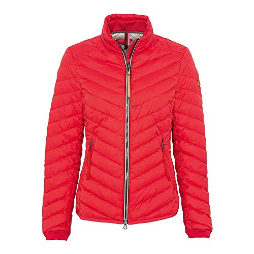 camel active Womenswear Jacke Giacca, Rosso (Red 55), 54 Donna