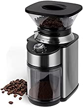 Conical Burr Coffee Grinder, Stainless Steel Adjustable Burr Mill with 19 Precise Grind Settings, Electric Coffee Grinder for Drip, Percolator, French Press, American and Turkish Coffee Makers