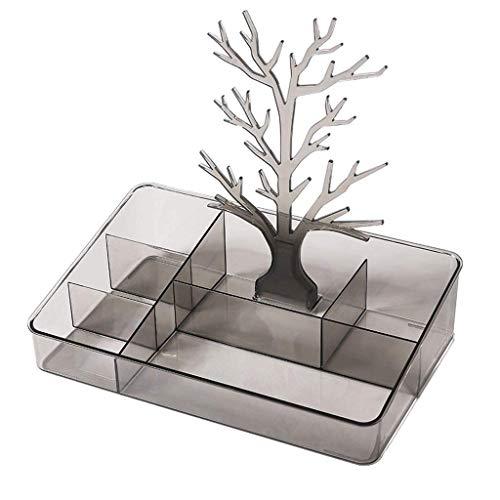 Caja de joyería familiar Caja de almacenamiento de cosméticos Adornos de almacenamiento Acabado Barra de labios Joyero Estante Caja de clasificación versátil Caja de almacenamiento de almacenamiento d