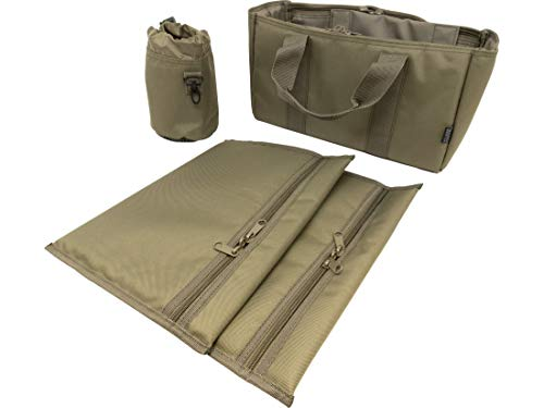 MidwayUSA Competition Range Bag 4-Piece Accessory Pack Olive Drab