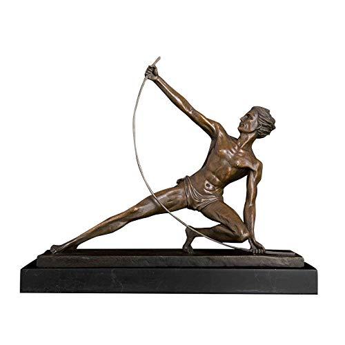 LOSAYM Escultura Figuritas Decorativas Estatuas Reproducción De Bronce Escultura De Estatua De Personas Famosas De Bronce para Decoraion De Escritorio