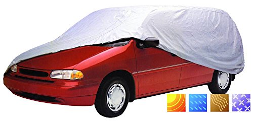 Carpoint 1723245 Telo Copri Auto Tybond Monospace, M, 458X161X121 cm