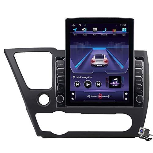 WHL.HH Androide 9.0 Auto Estéreo Radio por Honda Cívico EX-L 2013-2017 GPS Navegación 9,7 Pulgadas Vertical Pantalla Cabeza Unidad MP5 Multimedia Jugador Video con WiFi Carplay