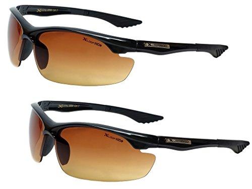 x loop night vision driving glasses Men Women Hd High Definition Anti Glare Driving Sunglasses Wrap Sports Eye wear