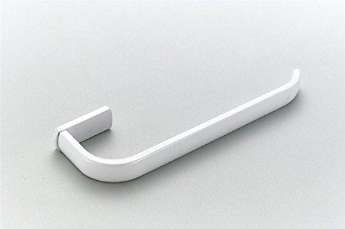 Bathfirst Handtuchhalter einzelne Messing weiß 61 CM/24 Inchs Wand für Bad und Küche 3