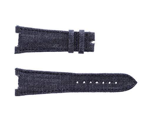 Patek Philippe Nautilus Style - Correa de reloj (25 mm, estilo Kurabo japonés)