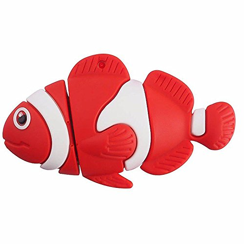 Ulticool Vis Aquarium 32 GB USB-stick - Fish Red USB Flash Drive - Origineel Cadeau voor Man en Vrouw - Dataopslag - Rood