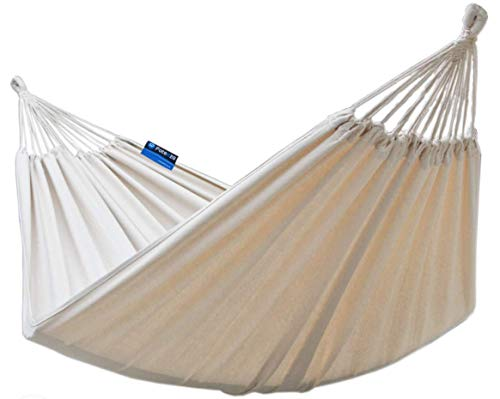 Potenza The Good Weather Co. Premium Double (XXL: 2 Person) Cocoon Style Hammock  Holds: 200kg  Size: 220cm x 160cm  Colour: Roma