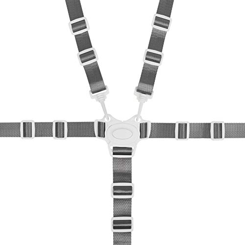 High Chair Straps, Replacement 5 Point Harness Straps Belt for Stroller High Chair Pram Buggy Children Kid