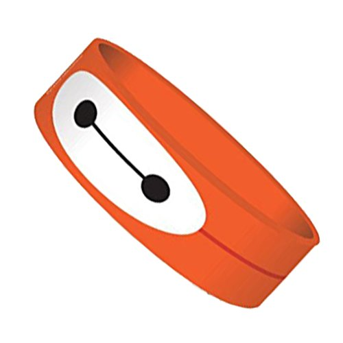 Disney Big Hero 6 Baymax Bracelet en Caoutchouc (Orange)