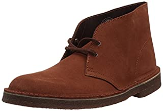 Clarks Men's Desert Chukka Boot, Mahogany Suede, 9 Medium US (B073P6DMN7) | Amazon price tracker / tracking, Amazon price history charts, Amazon price watches, Amazon price drop alerts