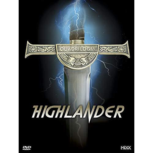 Mixx Highlander A Quadrilogia DVD