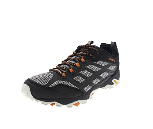 Merrell Men's Moab FST Hiking Shoe, Black, 10 M US