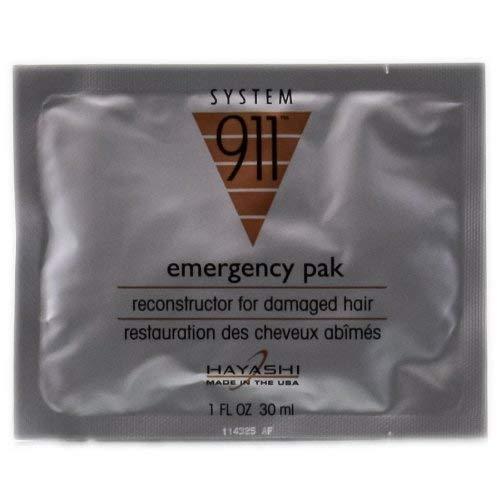 HAYASHI System 911 Emergency Pak Reconstructor for Damaged Hair 1oz