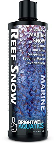 Brightwell Aquatics Reef Snow - Replicates Marine Snow for Corals & Other Marine Invertebrates