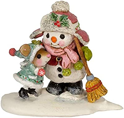 Wee Forest Folk A-49b Christmas Town Sign Post