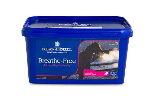 Dodson & Horrell 5029164007248 Atem-frei Respiratorisch Nahrungsergänzungsmittel Für Pferde, 1 kg