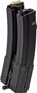 良品武品 【 東京マルイ 電動ガン MP5 シリーズ 対応 】 560連 多弾 デュアルマガジン ゼンマイ式 BK ブラック
